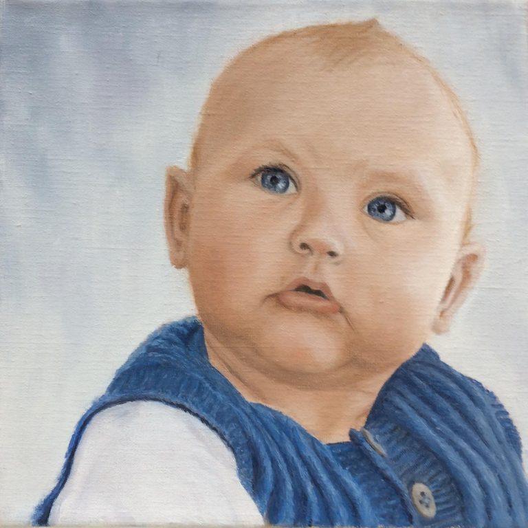 Frederik - bror - 30 x 30