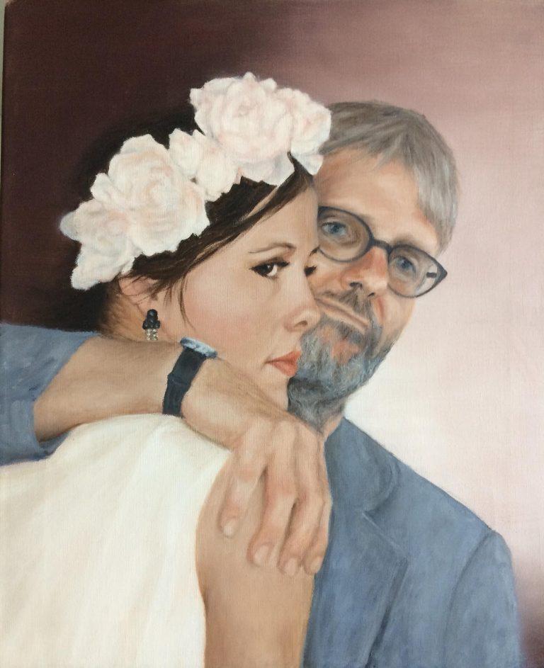 Vibe Worning og Hans E. Gjerding - 42 x 50